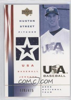 2002 Upper Deck USA Baseball Jerseys #US-HS - Huntsville Stars /475