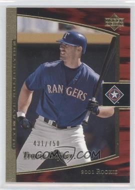 2002 Upper Deck Ultimate Collection [???] #103 - Travis Hafner /750