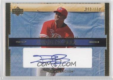 2002 Upper Deck Ultimate Collection [???] #114 - Jose Pagan /550