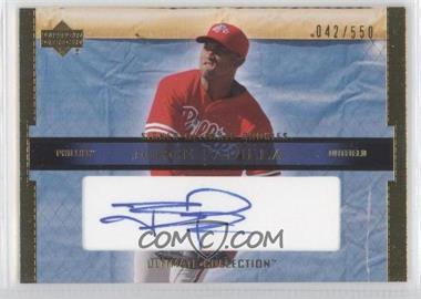 2002 Upper Deck Ultimate Collection #114 - Jorge Padilla /550