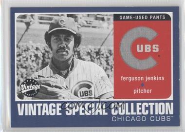 2002 Upper Deck Vintage - Special Collection #S-FJ - Fergie Jenkins