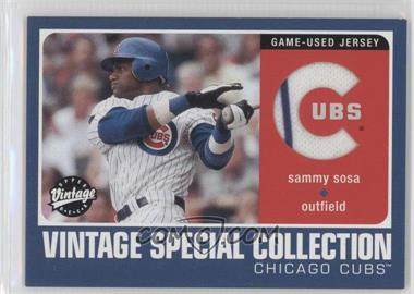 2002 Upper Deck Vintage - Special Collection #S-SS - Sammy Sosa