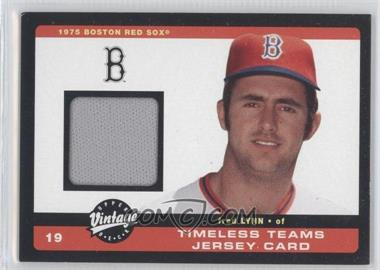 2002 Upper Deck Vintage - Timeless Teams Jerseys #J-FL - Fred Lynn