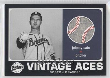 2002 Upper Deck Vintage - Vintage Aces #A-JS - Johnny Sain