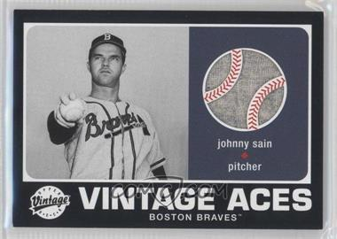 2002 Upper Deck Vintage [???] #A-JS - Johnny Sain