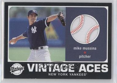 2002 Upper Deck Vintage [???] #A-MMU - Mike Mussina