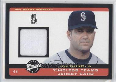 2002 Upper Deck Vintage [???] #J-11 - Edgar Martinez