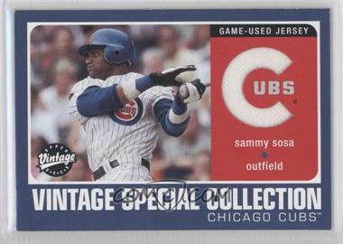 2002 Upper Deck Vintage [???] #S-SS - Sammy Sosa