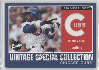 2002 Upper Deck Vintage Special Collection #S-SS - Sammy Sosa