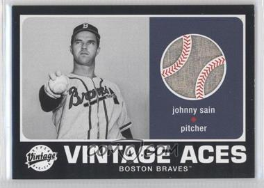 2002 Upper Deck Vintage Vintage Aces #A-JS - Johnny Sain