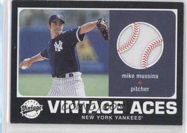 2002 Upper Deck Vintage Vintage Aces #A-MMU - Mike Mussina
