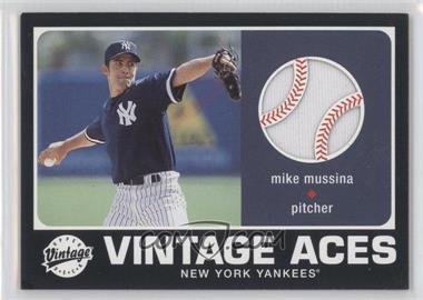 2002 Upper Deck Vintage Vintage Aces #A-MMU - Mike Mussina