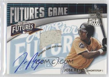 2003 Bowman - Futures Game Base Autograph #FGAB-JR - Jose Reyes