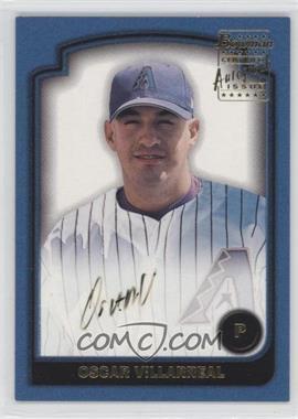 2003 Bowman [???] #SOF-OV - Oscar Villarreal