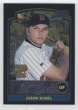 2003 Bowman Chrome - [Base] #337 - Jason Kubel