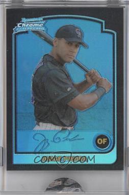 2003 Bowman Chrome Blue Refractor #282 - Jorge Piedra