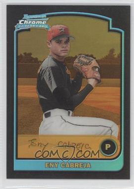 2003 Bowman Chrome Gold Refractor #190 - Eny Cabreja /170