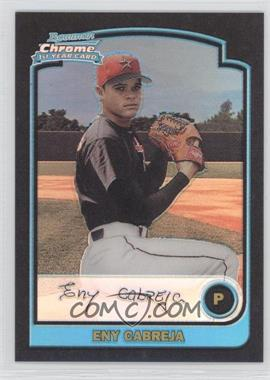 2003 Bowman Chrome Refractor #190 - Eny Cabreja