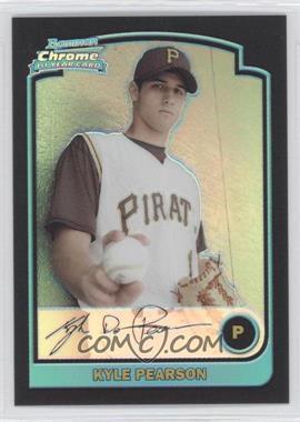 2003 Bowman Draft Picks & Prospects - [Base] - Refractor #BDP91 - Kyle Pearson