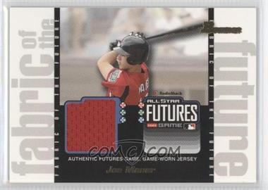 2003 Bowman Draft Picks & Prospects - Fabric of the Future #FF-JM - Joe Mauer