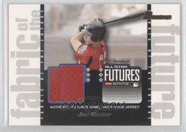 2003 Bowman Draft Picks & Prospects Fabric of the Future #FF-JM - Joe Mauer