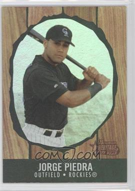 2003 Bowman Heritage - [Base] - Rainbow First Year #205 - Jorge Piedra