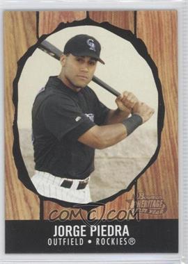 2003 Bowman Heritage #205 - Jorge Piedra