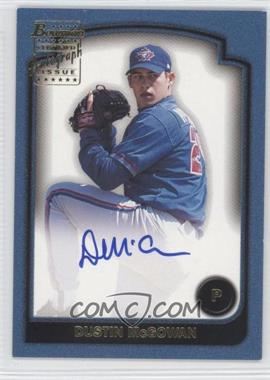 2003 Bowman Signs of the Future #SOF-DHM - Dustin McGowan