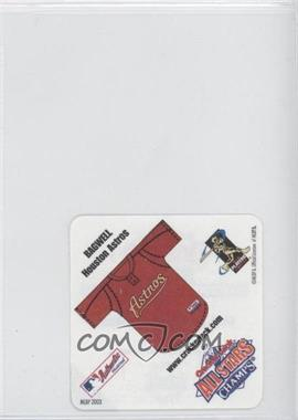 2003 Cracker Jack All Stars - Food Issue Instant Win Game #N/A - Jeff Bagwell