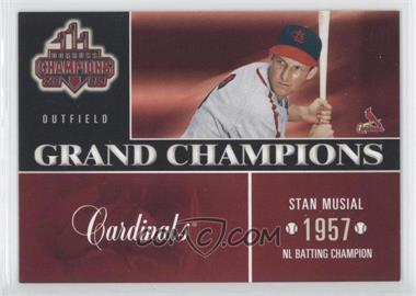 2003 Donruss Champions - Grand Champions #GC-1 - Stan Musial