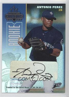 2003 Donruss Champions Signatures #248 - [Missing] /500
