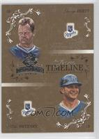 George Brett, Mike Sweeney /50