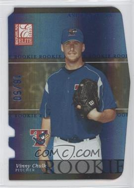 2003 Donruss Elite - [Base] - Blue Die-Cut Aspirations #193 - Vinnie Chulk /50