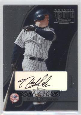 2003 Donruss Signature Series - [Base] - Authentic Signature [Autographed] #65 - Nick Johnson