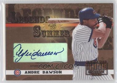2003 Donruss Signature Series Legends of the Summer Bronze Authentic Signature [Autographed] #LS-3 - Andre Dawson