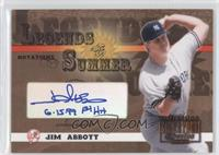 Jim Abbott /75
