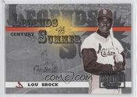 Lou Brock /100