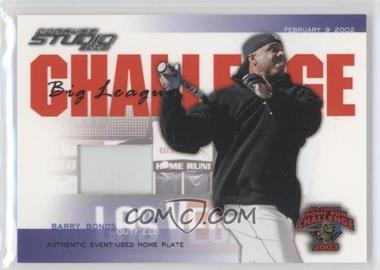 2003 Donruss Studio - Big League Challenge - Materials [Memorabilia] #BLC-42 - Barry Bonds