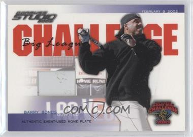 2003 Donruss Studio Big League Challenge Materials [Memorabilia] #BLC-42 - Barry Bonds
