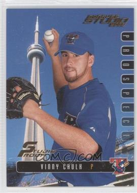 2003 Donruss Studio Studio Proof #95 - Vinnie Chulk /100