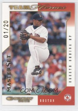 2003 Donruss Team Heroes - [Base] - Master Set #90 - Ugueth Urbina /20