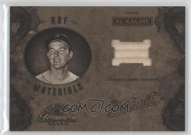 2003 Donruss Timeless Treasures HOF Materials #HOF-1 - Al Kaline /100