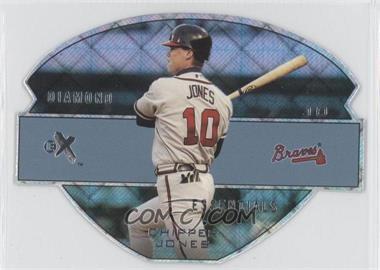 2003 EX [???] #7DE - Chipper Jones