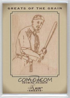 2003 Flair Greats [???] #N/A - Ty Cobb /50