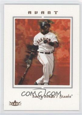 2003 Fleer Avant [???] #4 - Barry Bonds