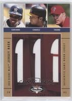 Alfonso Soriano, Eric Chavez, Jim Thome /350