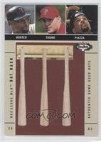 Jim Thome, Mike Piazza, Torii Hunter /250