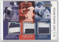 Randy Johnson, Alfonso Soriano, Shawn Green /50