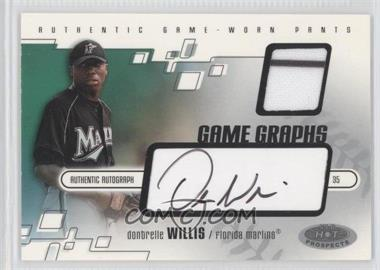 2003 Fleer Hot Prospects #116 - Dontrelle Willis /400