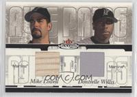 Mike Lowell, Dontrelle Willis /100
